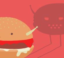 Fast fat food Sticker