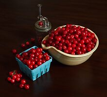 Life is Just a Bowl of Cherries by Quattrophoto