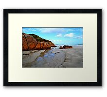 Anagry Beach, Co Donegal 6 Framed Print