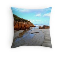 Anagry Beach, Co Donegal 6 Throw Pillow