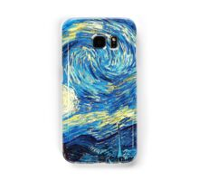Starry Night Vincent Van Gogh Oil Painting Samsung Galaxy Case/Skin