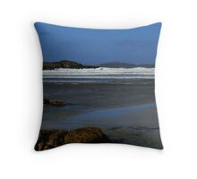 Anagry Beach, Co Donegal. 4 Throw Pillow