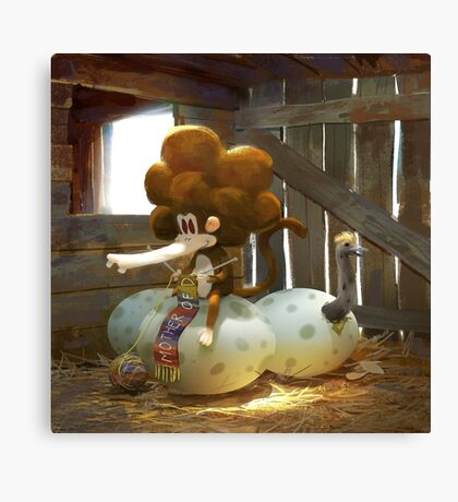 Tzika - eggs Canvas Print