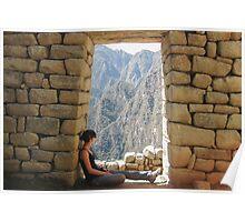 Machu Pichu Poster