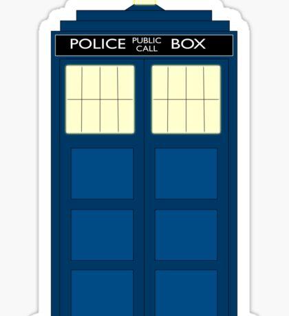 Simple Police Box Sticker