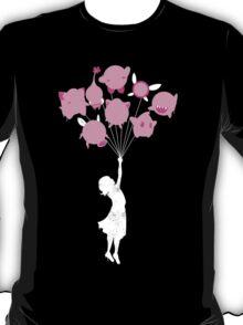 Floating Pink Puffs T-Shirt
