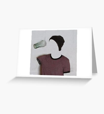 The Invisible Girl Greeting Card
