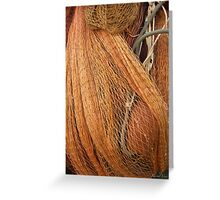 The wild and magic beauty of fishing nets ~ 09 Greeting Card