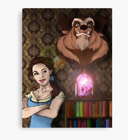 Beauty Killed the Beast Canvas Print