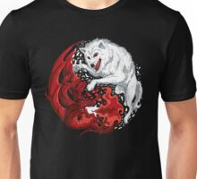Dragon and Wolf Unisex T-Shirt