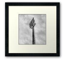 Stadium Floodlights Framed Print