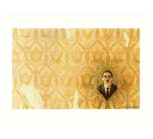 Madman in the Wallpaper Art Print