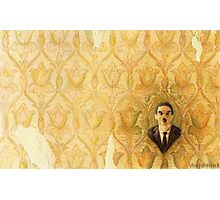 Madman in the Wallpaper Photographic Print