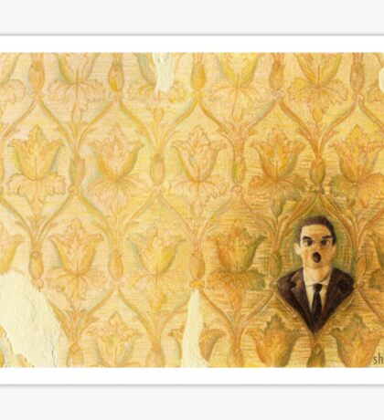 Madman in the Wallpaper Sticker