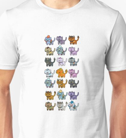 Neko Atsume Feral Druid Todos Unisex T-Shirt