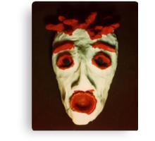 FEAR Mask © at Seventeen Canvas Print