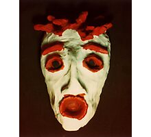 FEAR Mask © at Seventeen Photographic Print