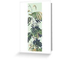 Wall Flower Greeting Card