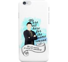 Finn Hudson Glee iPhone Case/Skin