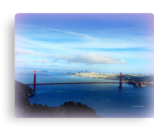 Golden Gate Bridge in Distance Canvas Print