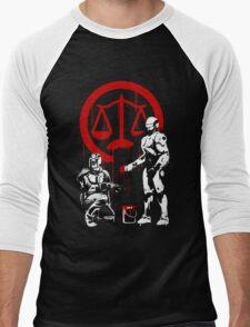 Law Enforcement in Dystopia Men's Baseball ¾ T-Shirt