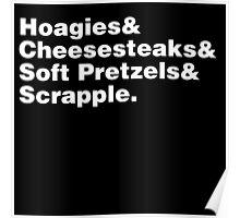 Philadelphia Foods Helvetica Poster