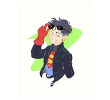 DC - Superboy - that 90's look Art Print