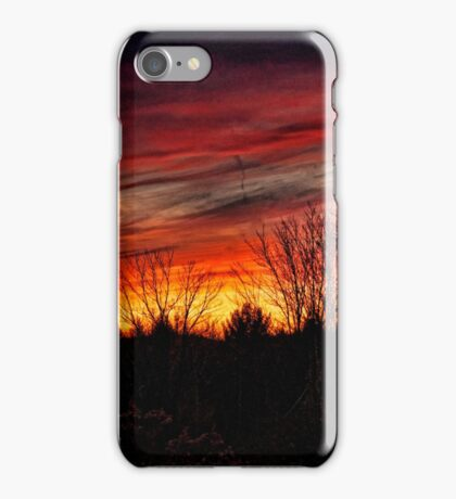 Elkland Township Sunset iPhone Case/Skin