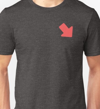 Imgur Downvote Pattern  Unisex T-Shirt