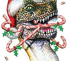 Dinosaur Christmas by bhymer
