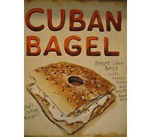 Cuban Bagel Photographic Print