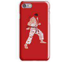 Ryu Typography iPhone Case/Skin