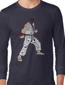 Ryu Typography Long Sleeve T-Shirt