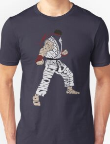 Ryu Typography Unisex T-Shirt