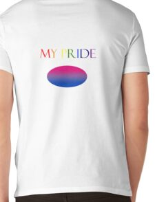 My Pride- Bisexuality Mens V-Neck T-Shirt