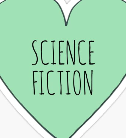Science Fiction Love Sticker