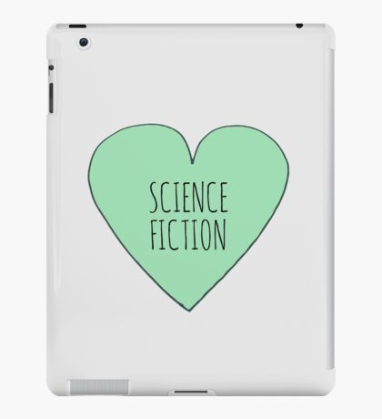 Science Fiction Love iPad Case/Skin