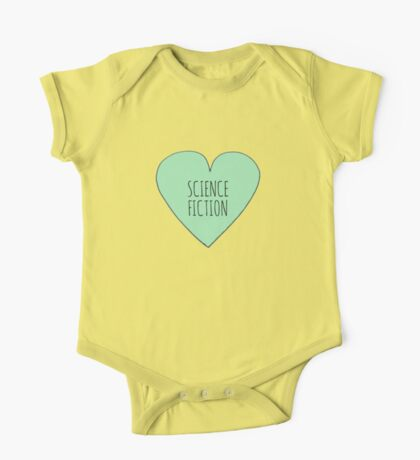 Science Fiction Love One Piece - Short Sleeve