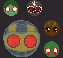 minimalistic chibi guardians:  the theif by tentaclemade