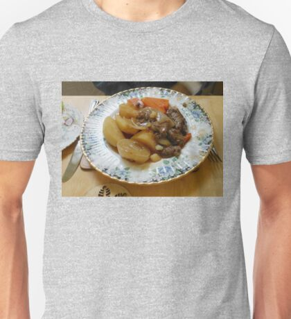 Meat and Vegetables Unisex T-Shirt