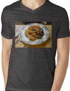 Meat and Vegetables Mens V-Neck T-Shirt