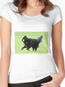 2015 Groenendael fetching dumbell Women's Fitted Scoop T-Shirt