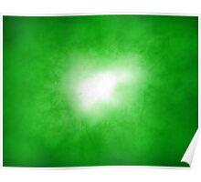 Green Nebular Poster