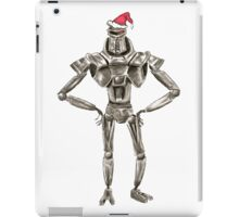 Christmas Cylon in a Santa Hat iPad Case/Skin