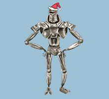 Christmas Cylon in a Santa Hat Unisex T-Shirt
