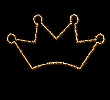 Gold crown  by QueenofNorty
