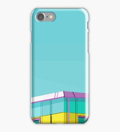 Turquoise Building iPhone Case/Skin