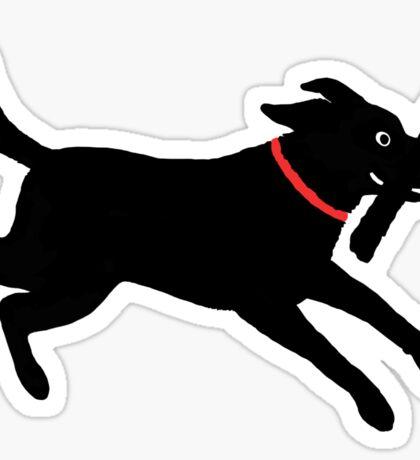 Happy Lab Sticker