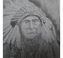 NATIVE AMERICAN CHIEF Photographic Print