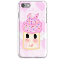 Kawaii Rainbow Unicorn Cupcake iPhone Case/Skin